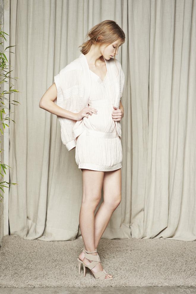 hoss intropia vestido blanco