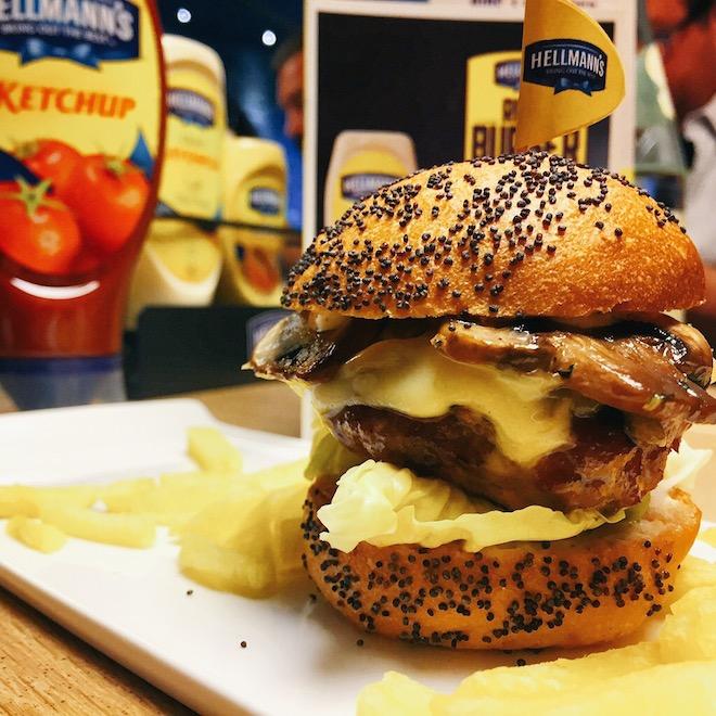 ruta burger hellmanns
