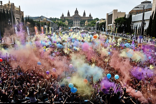 The Color Run by Desigual 2014