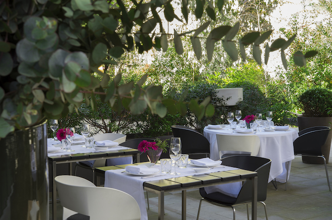Restaurant week en barcelona y madrid men s de lujo a 25 for Hotel jardin barcelona