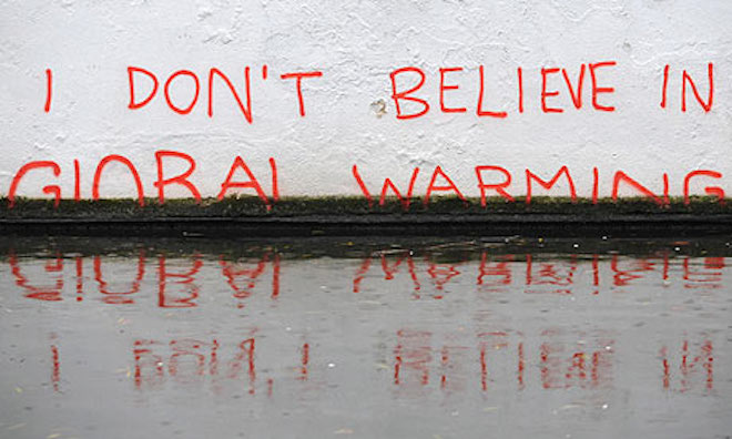 Banksy-global warning