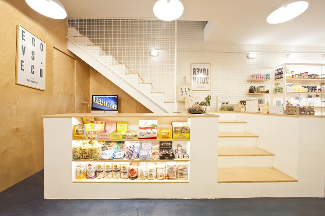 THE LIVING FOOD tienda barcelona