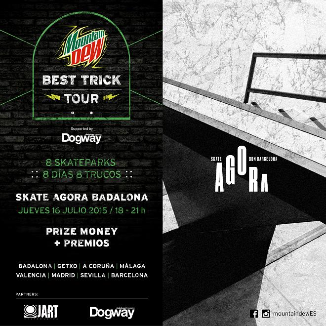 Mountain Dew Best Trick Tour Cartel Skate Agora