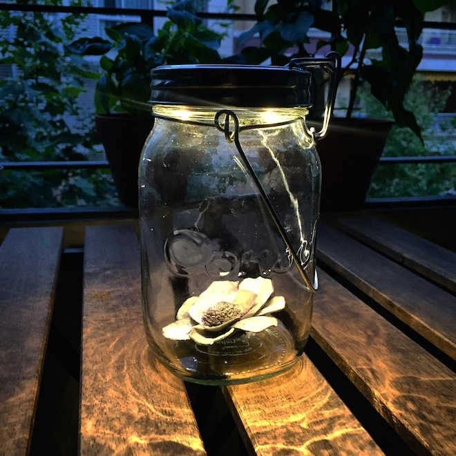 consol solar jar lampara solar