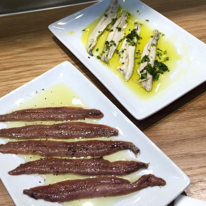 Boquerones y anchoas