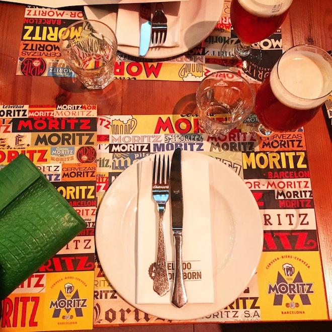 restaurante moritz barcelona