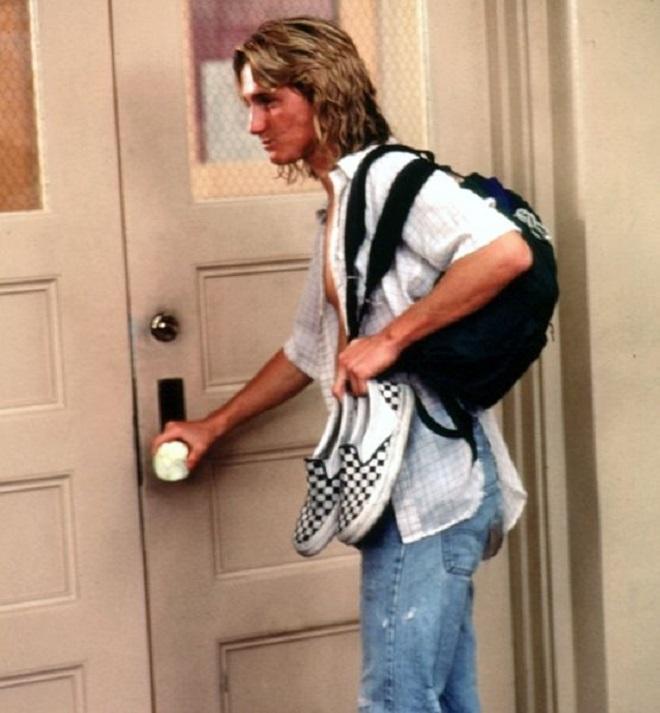 Sean Penn se puso un par de las Checkerboard en la película Fast Times at Ridgemont High