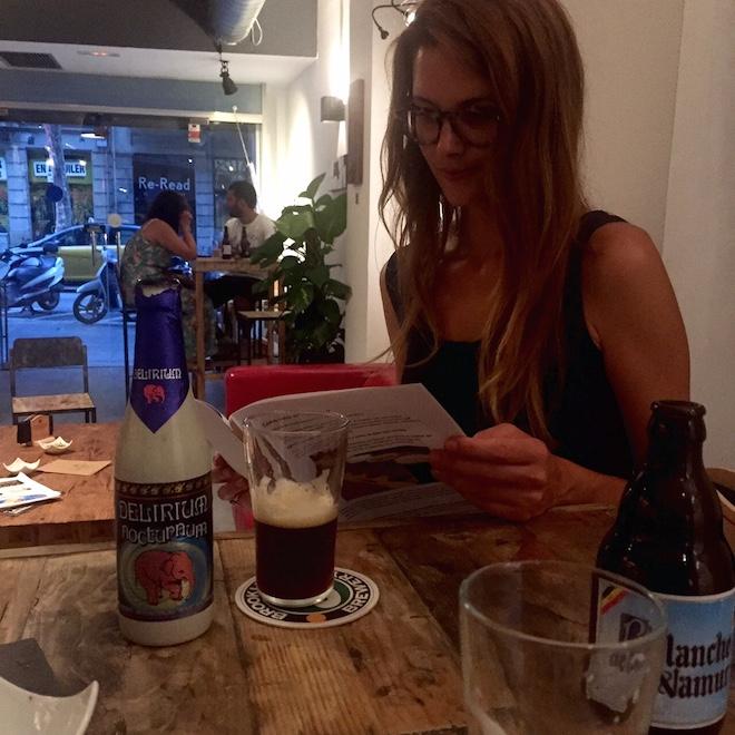 zythos beer barcelona dafne