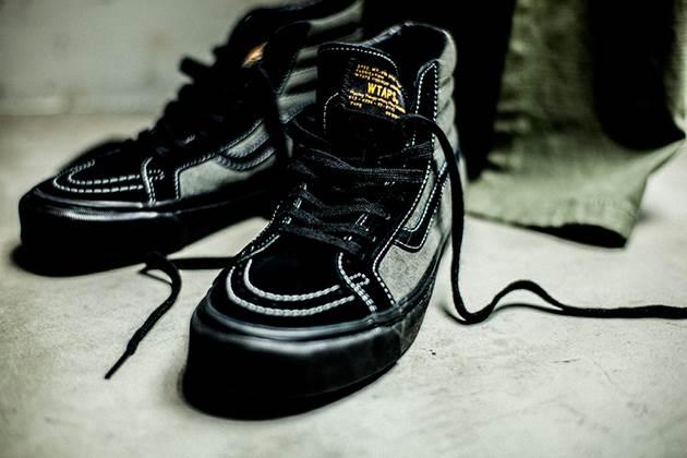WTAPS y vans negras bota