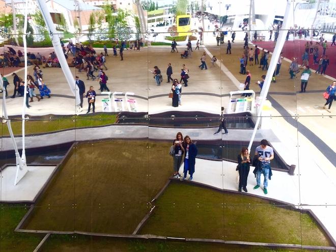 expo milano 2015 espacio esterior
