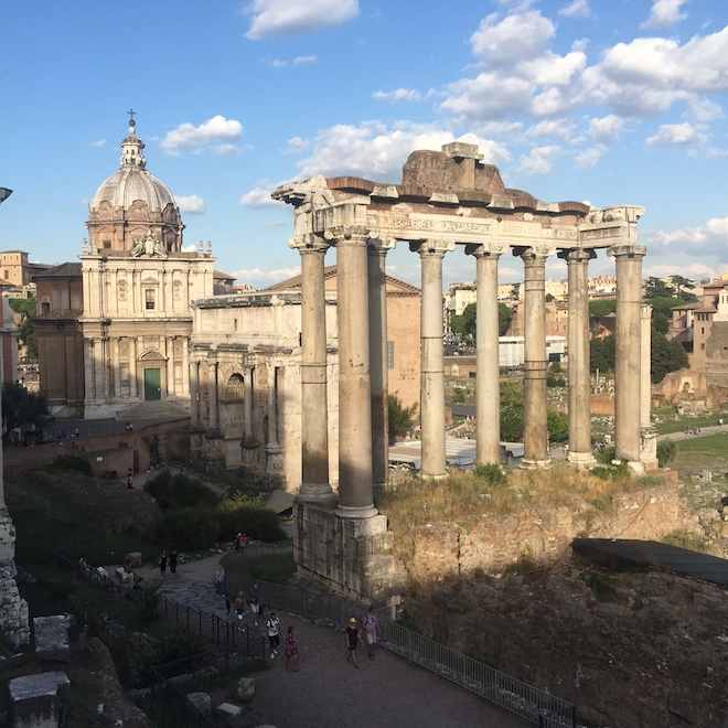 foto romanos roma