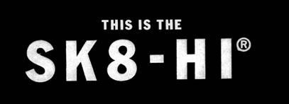 logo vans Sk8-Hi