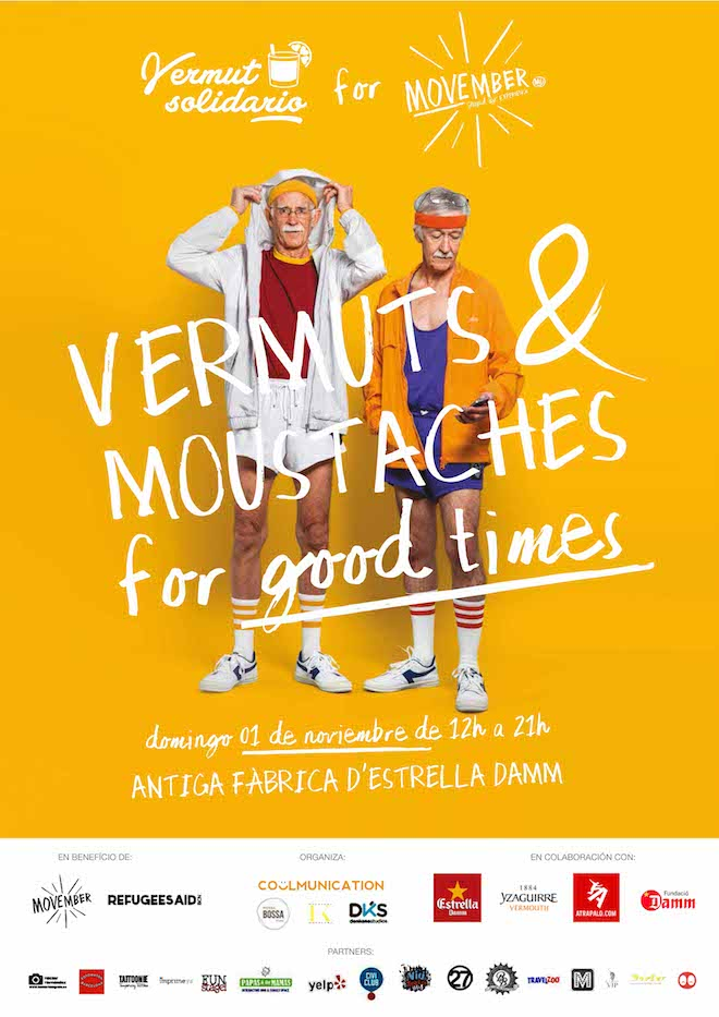 VERMUT SOLIDARIO FOR MOVEMBER