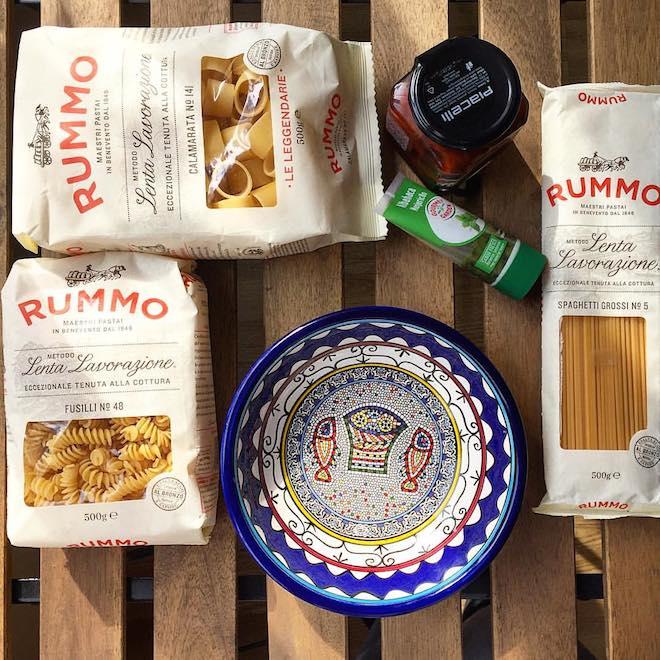 comer pasta dieta mediterranea