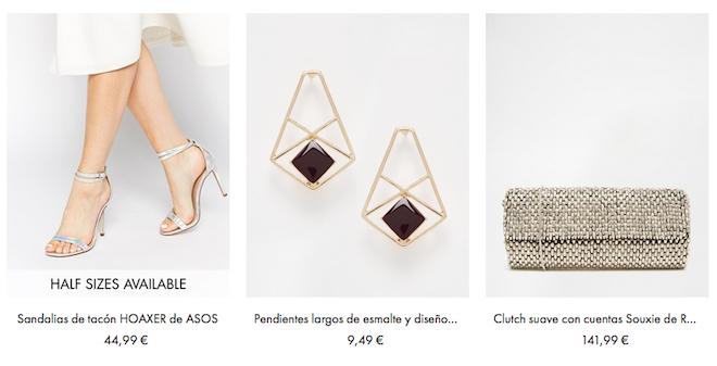 shopping online complementos de moda