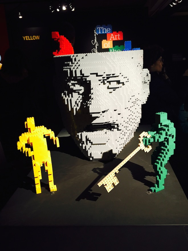The Art of the brick 15