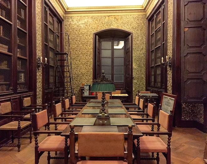 biblioteca real academia medicina