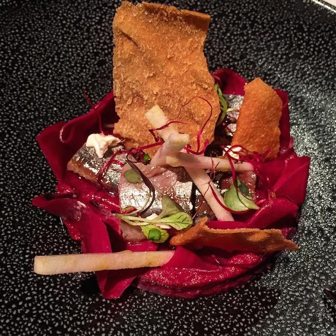 alma music dinner gastronomia