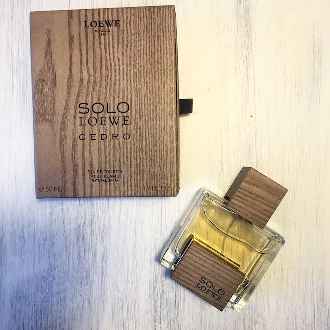 loewe cedro perfume
