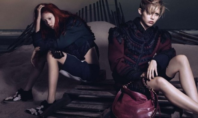 Natalie Westling Campaña Marc Jacobs SS14