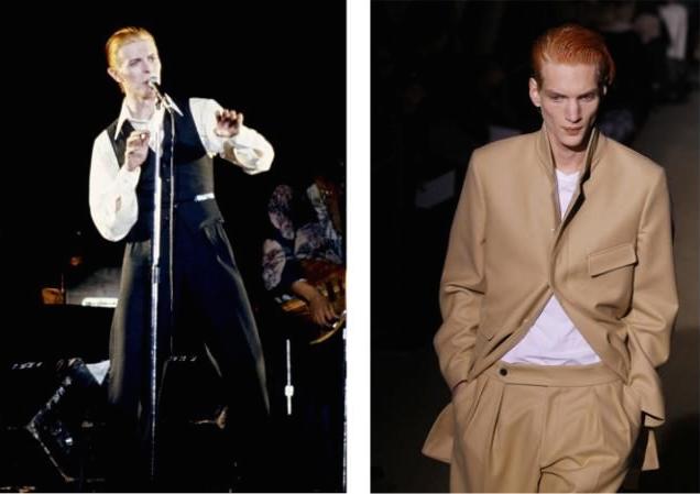 David Bowie / Dries Van Noten AW 2011
