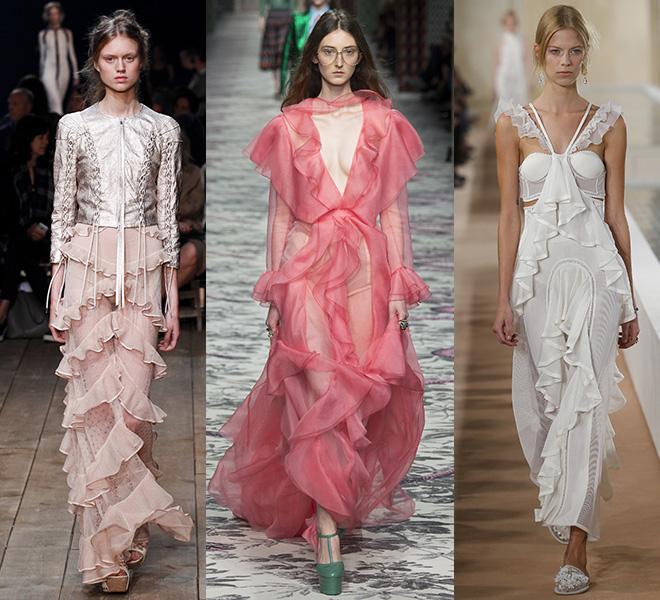 ROUFFLE: Alexander McQueen, Gucci, Balenciaga SS16