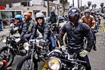 moto estilo retro