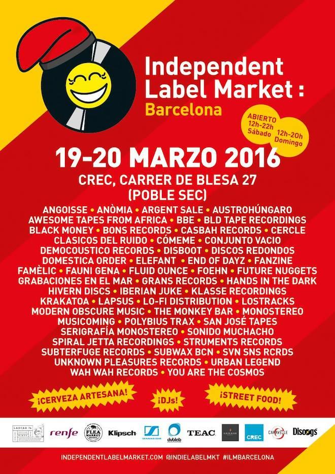 Independent Label Market en Barcelona