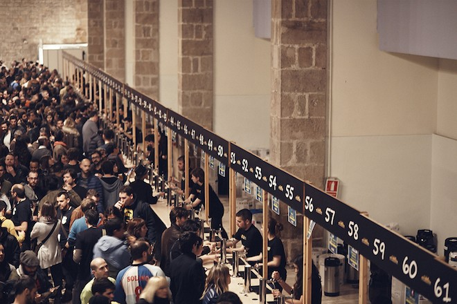 barcelona beer festival museo maritimo