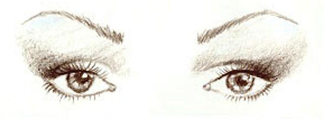 eyeliner maquillaje ojos rasgados