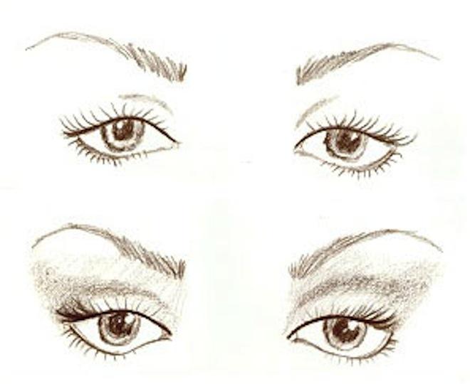 eyeliner ojos caidos
