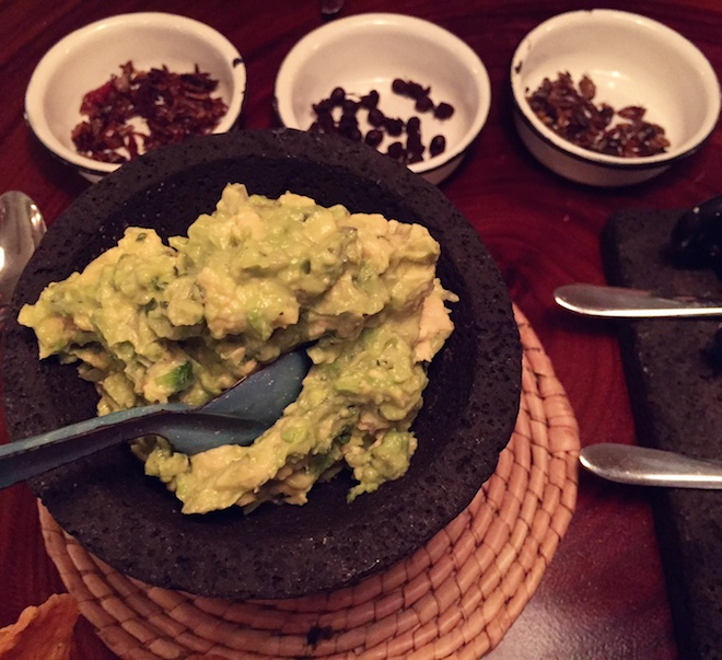 oaxaca restaurant guacamole