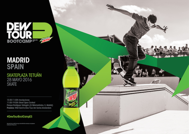 dew tour boot camp madrid