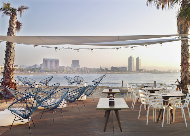 Salt Beach Club Terrace