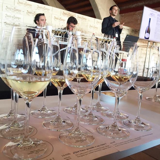 que hace bueno un vino blanco