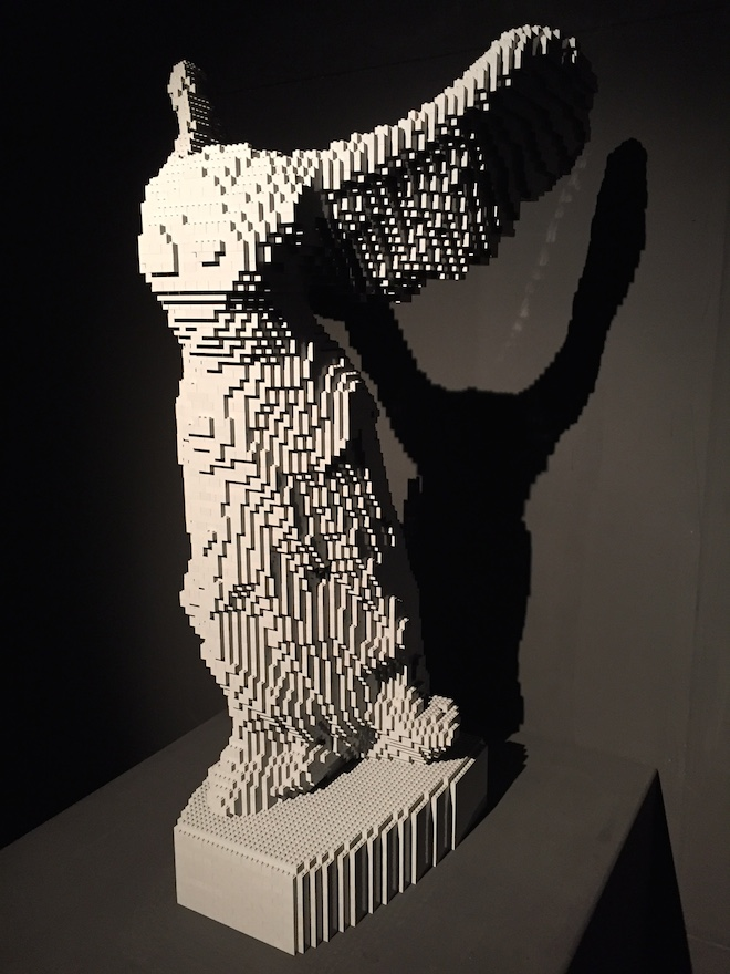 the art of the brick alas