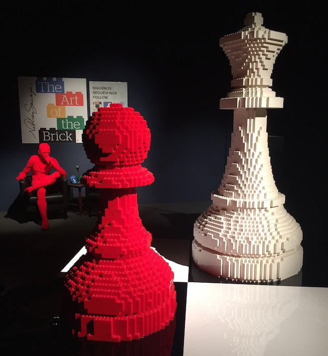 the art of the brick barcelona arenas