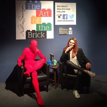 the art of the brick dafne