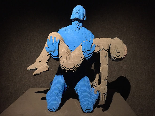 the art of the brick esculturas natan