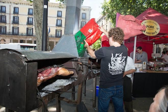 born street food gastronomia