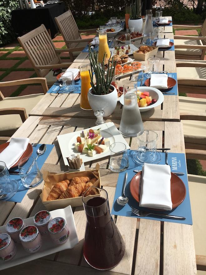 desayuno healthy hotel arts