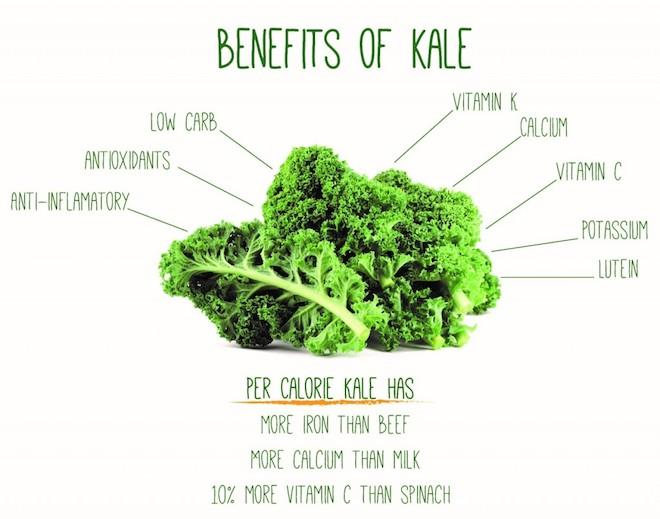 kale healthy foodie