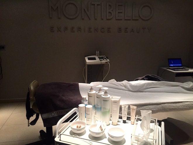 Montibello Experience Beauty cabina tratamiento