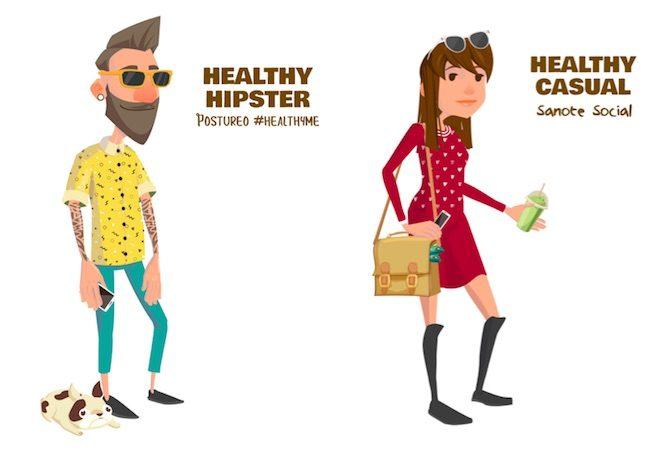 deliveroo reto healthy perfiles foodie