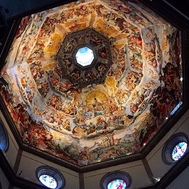 cupula affreschi firenze