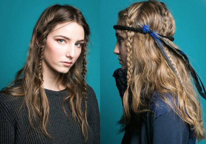 peinado de moda look festival