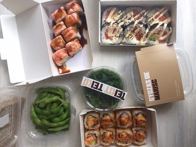 teikit comida japonesa takeaway