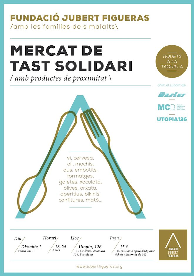 Mercat de Tast Solidari Fundacio Jubert Figueras
