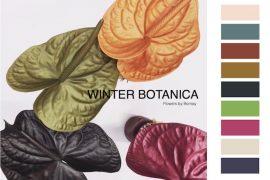 Colores de moda invierno 2018 winter botanica