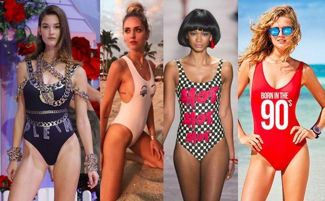 moda bano 2017 banadores enteros anos 90